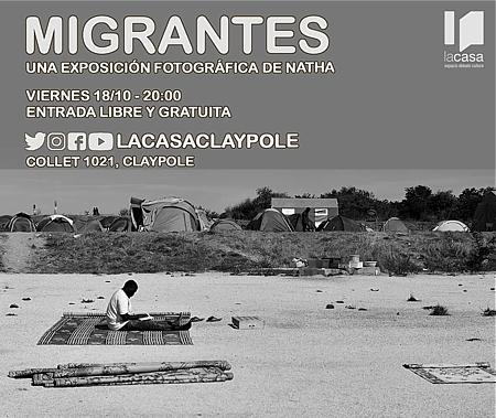 """Inauguración de la muestra fotográfica """"Migrantes"""" en LA CASA"""