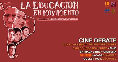 El documental La Educación en Movimiento en LA CASA