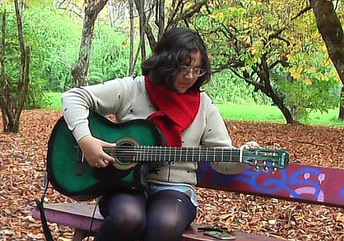 La cantautora chilena Genezaret en LA CASA