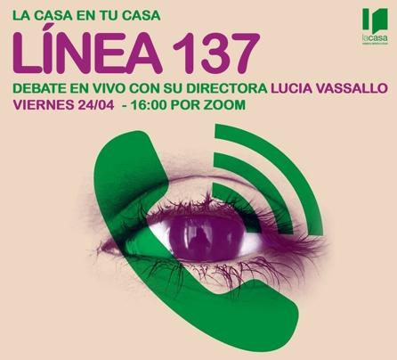 """La Casa en tu casa: cine-debate online """"Línea 137"""""""