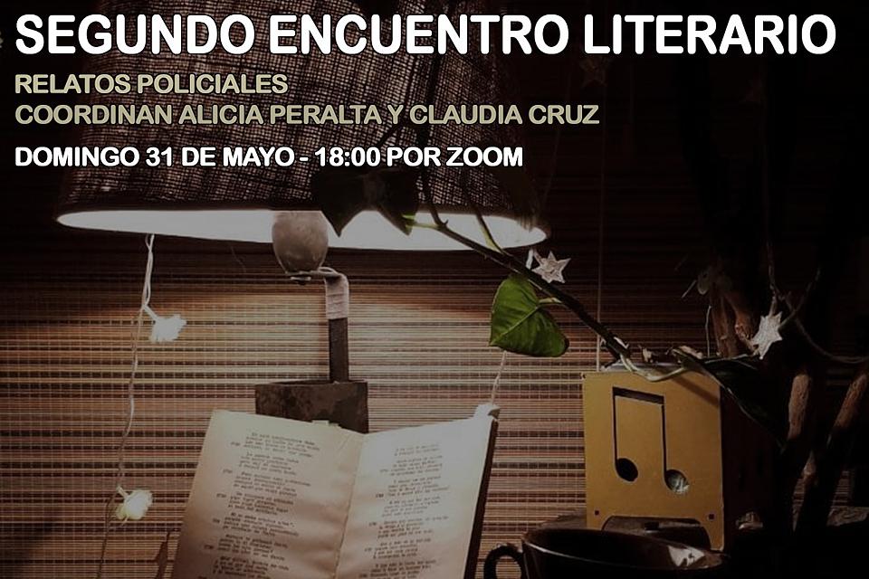 Segundo Encuentro Literario: Relatos Policiales