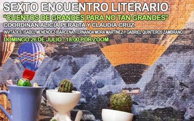 Encuentro literario virtual: Cuentos de grandes para no tan grandes
