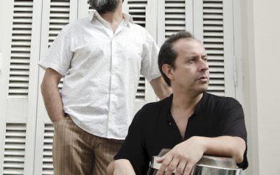 HERNÁN RÍOS Y FACUNDO GUEVARA EN LA CASA DE CLAYPOLE