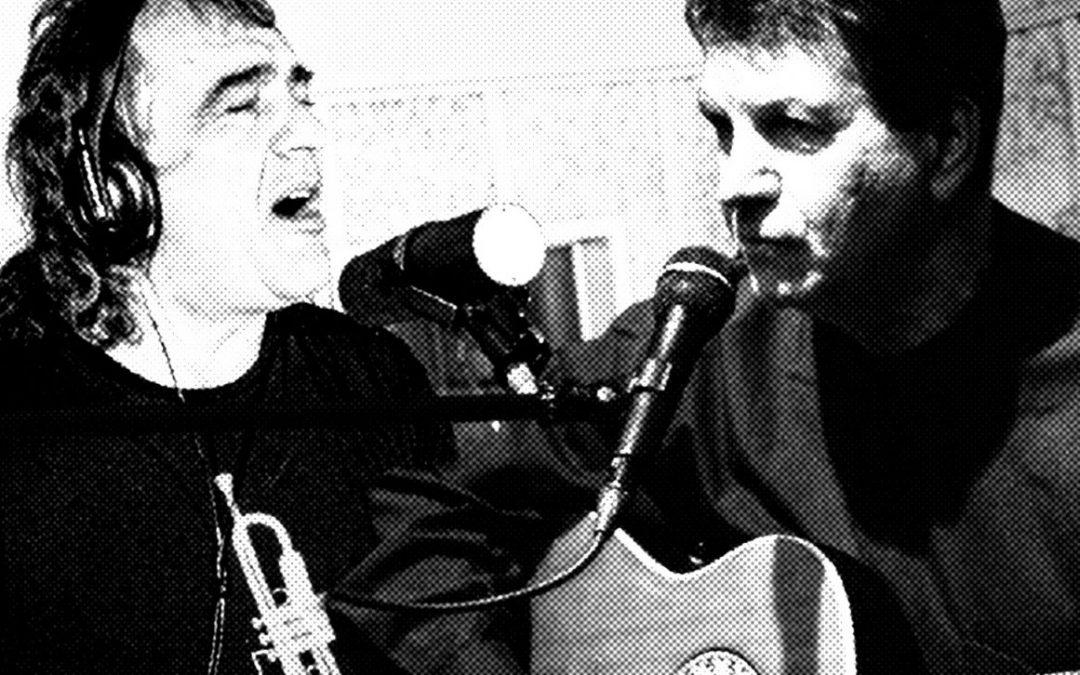 Jorge Garacotche y Marcelo López, música en LA CASA